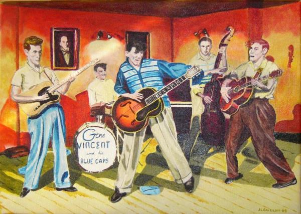 Gene Vincent por crazylegs